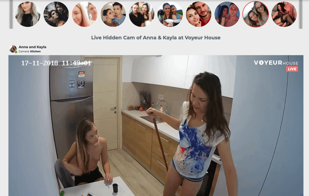 10 Location, 70 cams and growing - Voyeurhouse.com