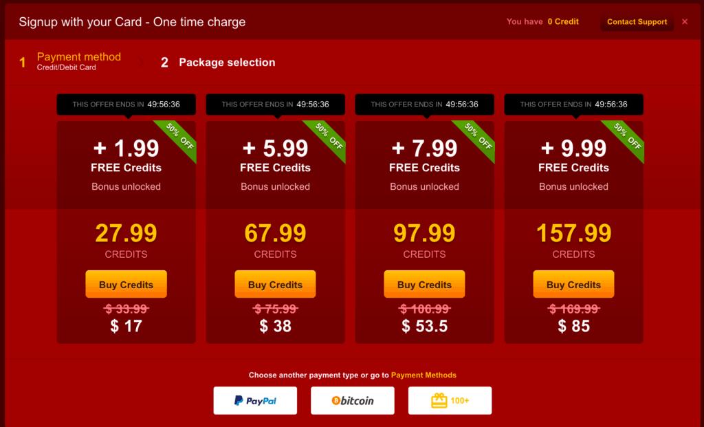 Livejasmin Red Friday - Cheaper credits
