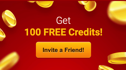 Get 100 credits, invite friend on livejasmin