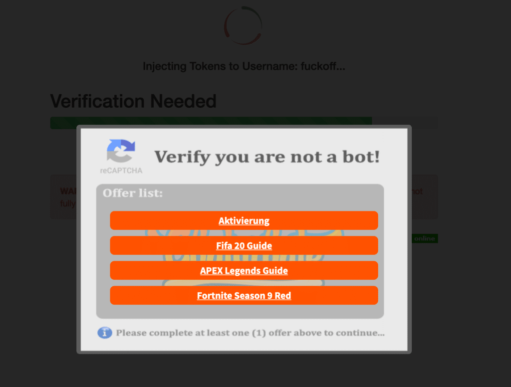 chaturbate hack survey