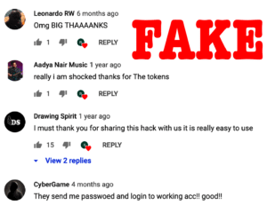 chaturbate hack fake comments on youtube