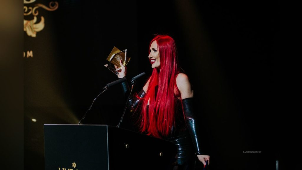 Daemon Goddes won award in 2018