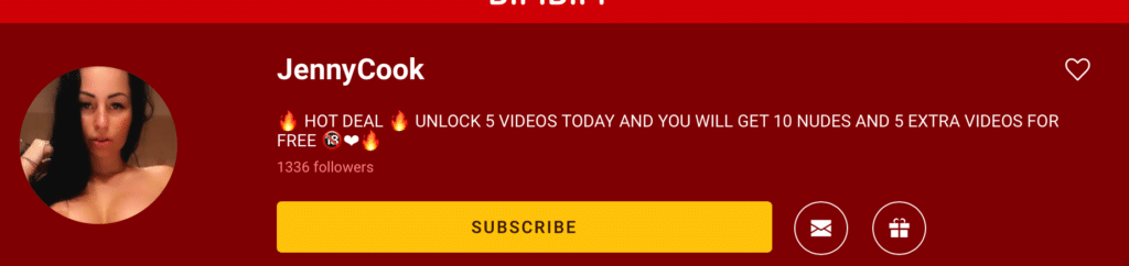 How to subscribe - Button